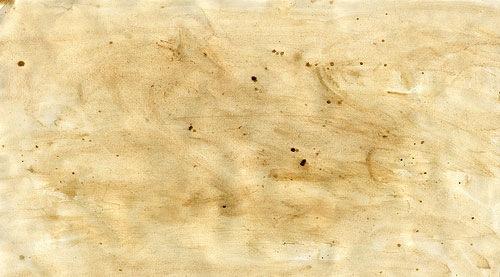 Измазанная бумага