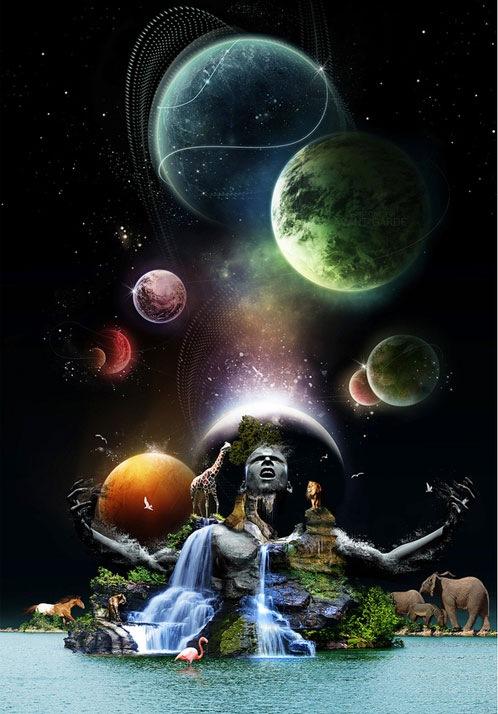 фотоманипуляция вселенной
