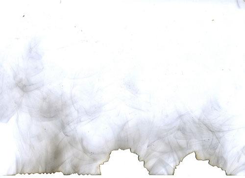 Рваная прожженная бумага
