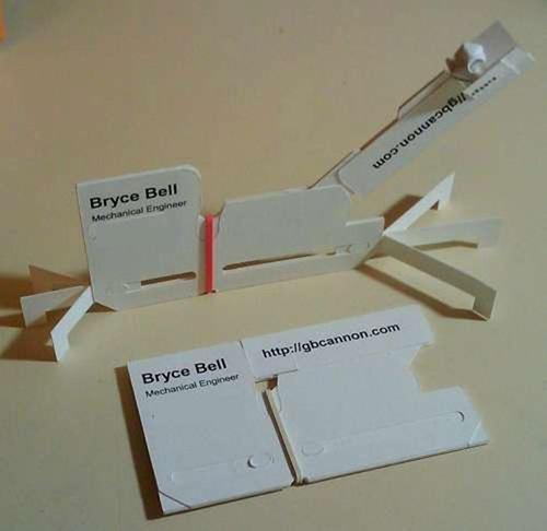 визитка-конструктор