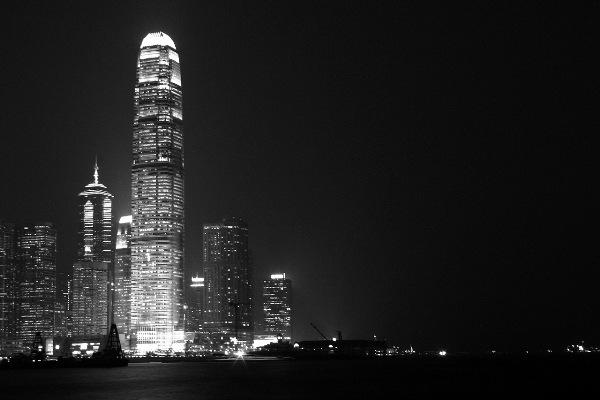ночьной город на рабочий стол