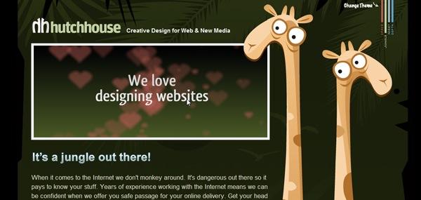 забавные иллюстрации жирафов на сайте