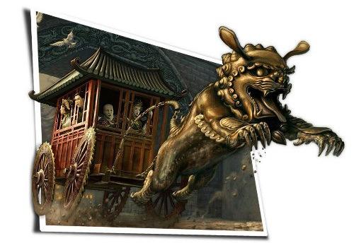 Верховая езда в китайском стиле