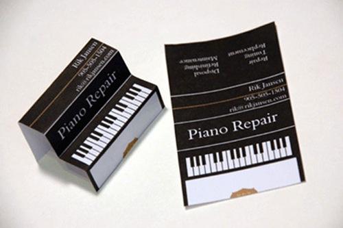 визитка-фортепиано
