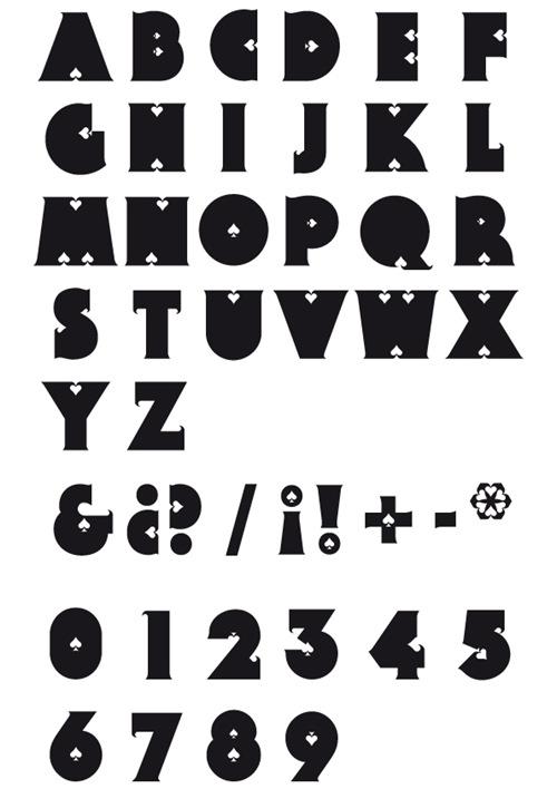 14 стильных типографических шрифтов