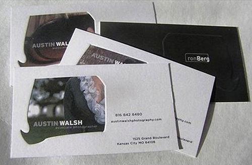 креативные дизайны визиток