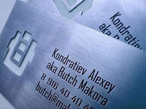 креативный дизайн визитной карточки
