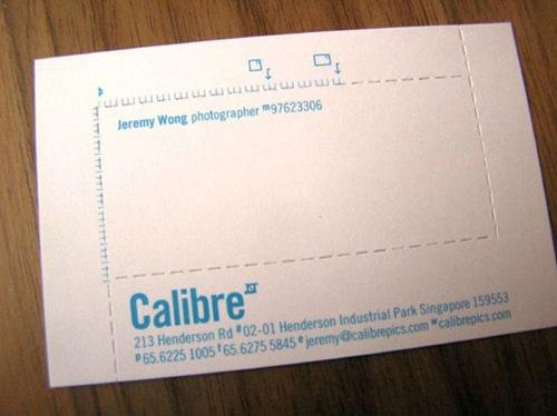 дизайн для визитки