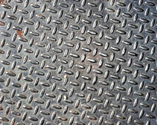 Черная металлическая текстура