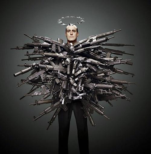 человек оружие
