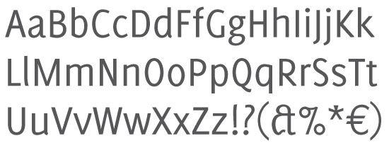отличный латинский шрифт
