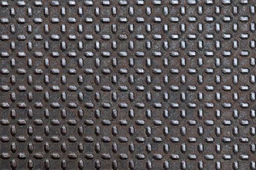 Старый лист металла с узором