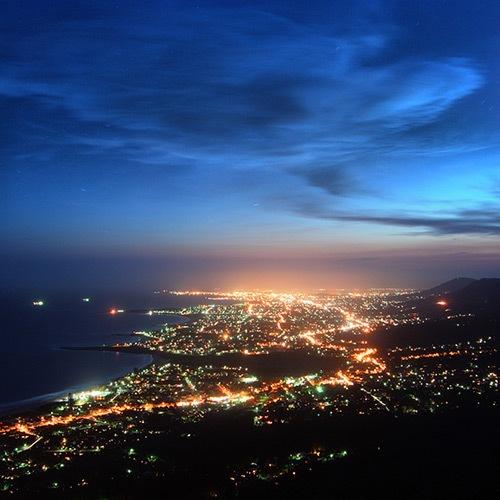 вечернее побережье