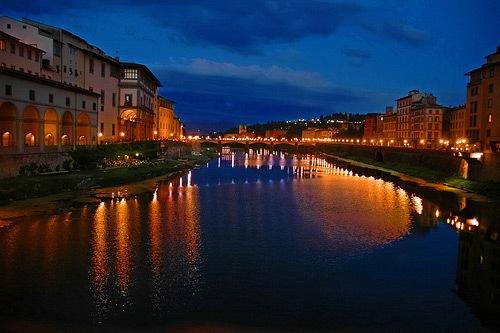 Ночная Флоренция