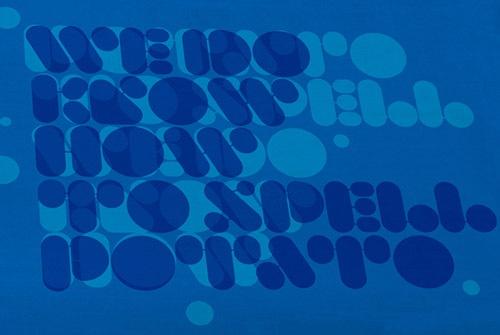 округлый типографический шрифт