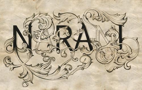 узоры в типографике