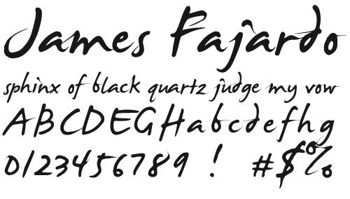 Прописной шрифт