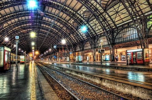 Полуночный вокзал в Милане