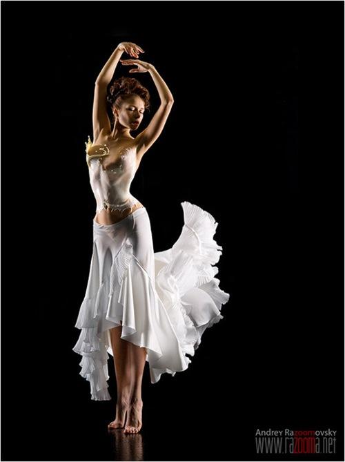 молочная танцовщица