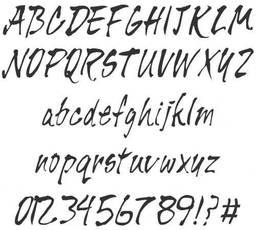 40 бесплатных шрифтов от руки