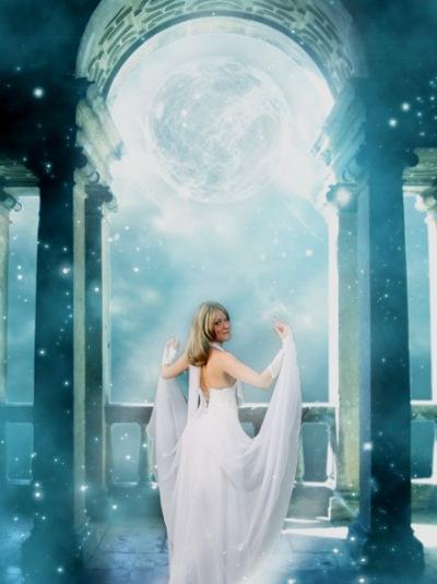 Фантазийно-мистический фото эффект