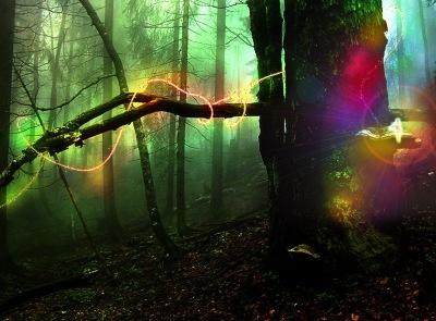 Туториал эффектов блеска и света