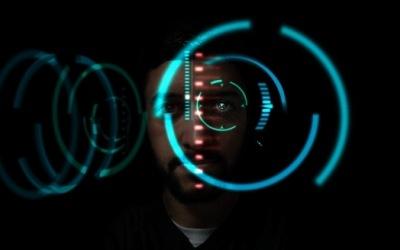 Эффект визуального сканирования Железного человека в Фотошопе