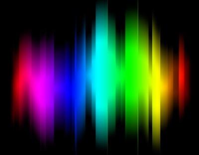 Создайте простые световые линии
