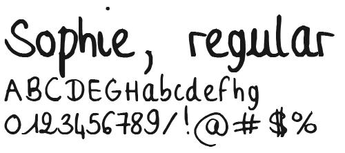 Жирный прописной шрифт