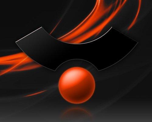 черные обои ubuntu