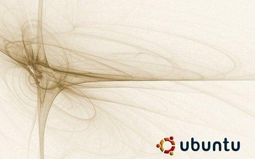 абстрактные обои ubuntu