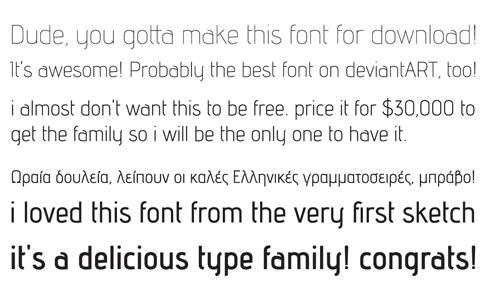 необычный шрифт