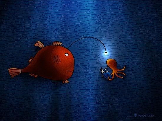 Иллюстрации подводного мира