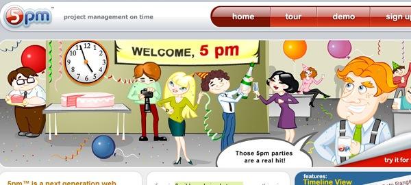 мультипликация в дизайне сайта