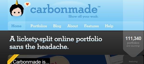 иллюстрированный логотип на сайте