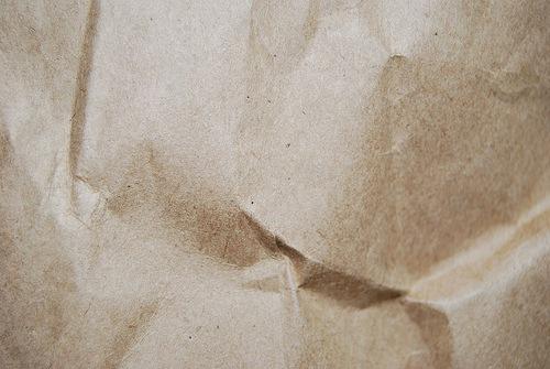 мятая бумажная текстура