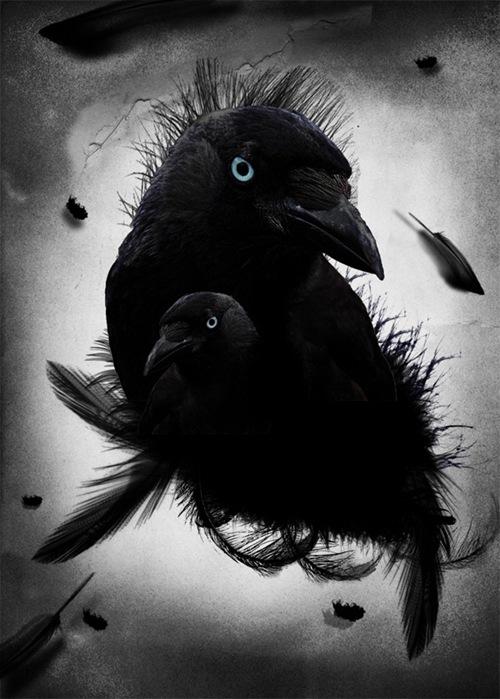 черно-белая фотоманнипуляция