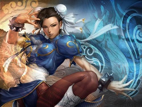 Обои Уличный боец - Чун-Ли и Гулиа