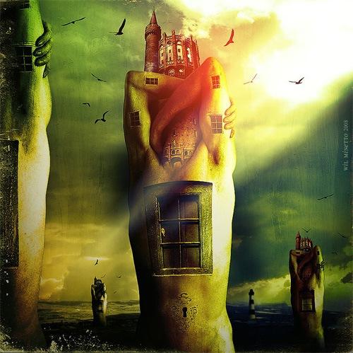 человек-замок