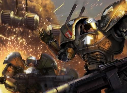 Обои к стратегической игре Command & Conquer