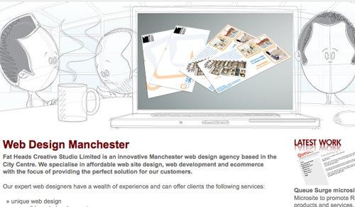 использование эскизов в дизайне сайта
