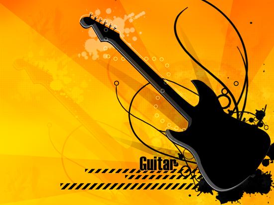 Гитара - вектор