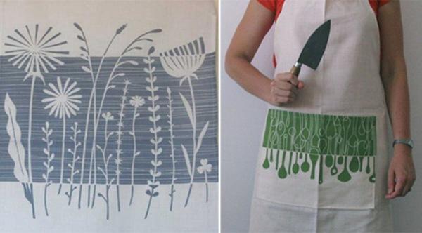 рисунки на текстиле