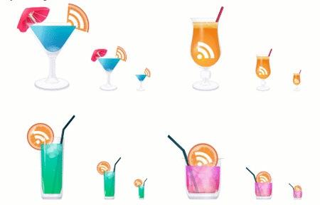 иконки-RSS-коктейли