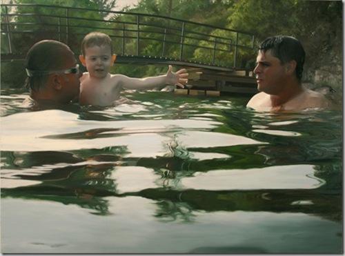 Плавающие люди