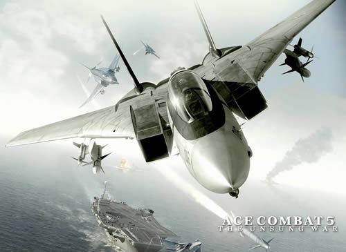 Обои к игре Ace Combat 5