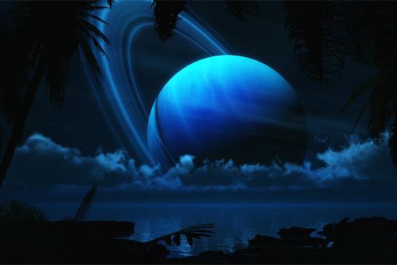 Тропическая луна