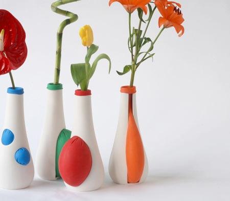 Выпуклые вазы