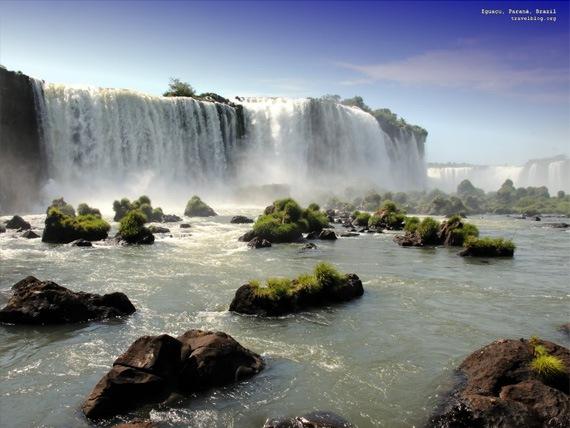 Водопад, Фос-ду-Игуасу, Бразилия