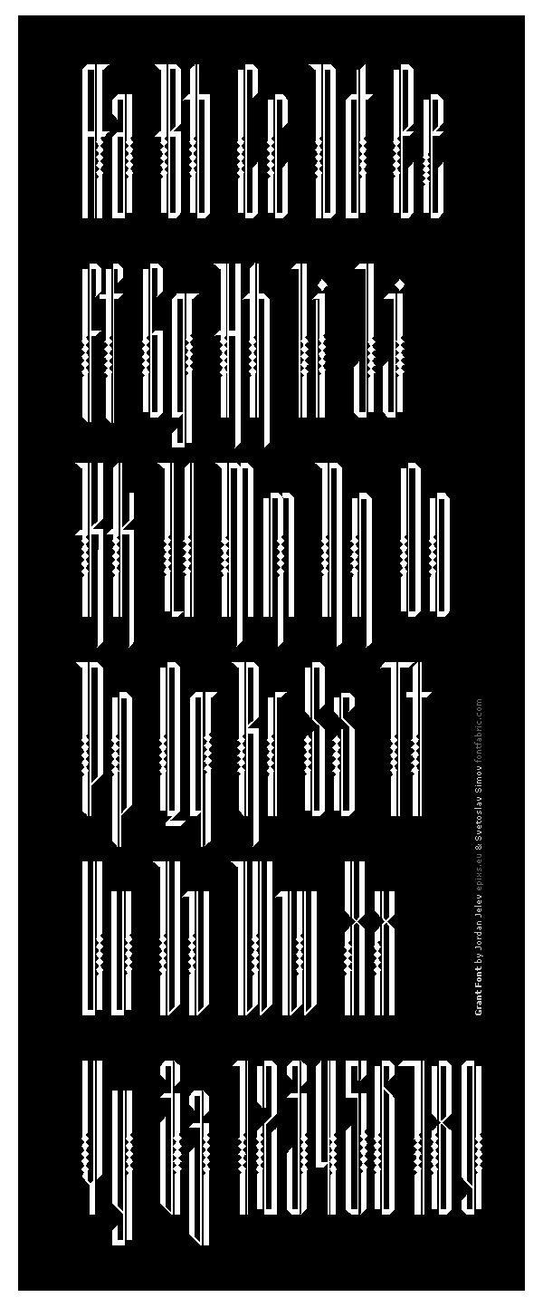 Векторная типографика